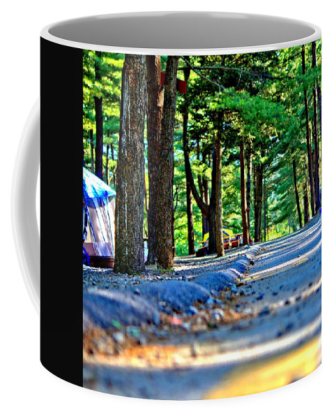 Knoebels Coffee Mug featuring the photograph Unknown Destination by Tyson Kinnison