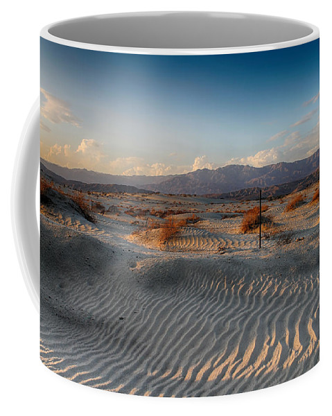 Palm Desert Coffee Mug featuring the photograph Unspoken by Laurie Search