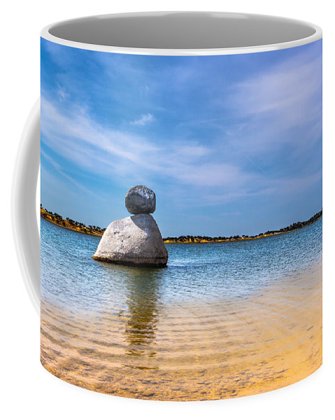 Unstable Equilibrium Coffee Mug featuring the photograph Unstable Equilibrium by Edgar Laureano