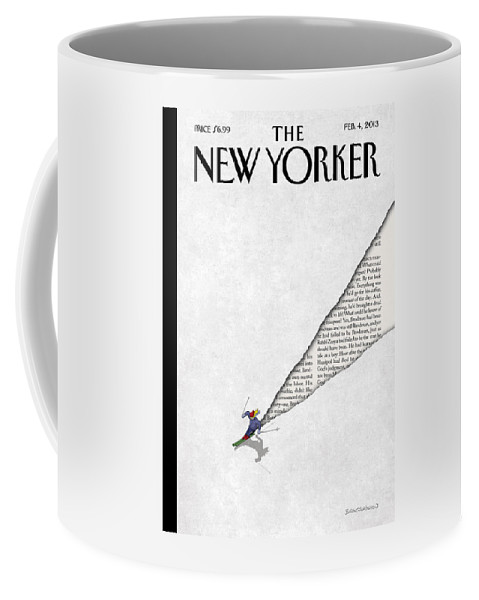 First Tracks Coffee Mug