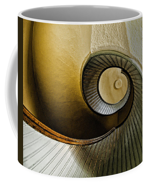 Stairway Coffee Mug featuring the photograph Up The Stairway by Jon Berghoff