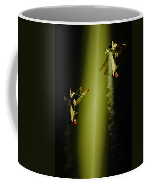 Pitts Special Coffee Mug featuring the photograph Up Up And Away by Paul Job