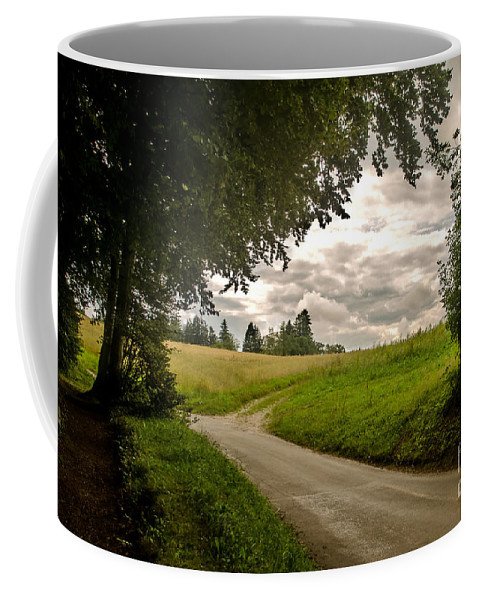 Michelle Meenawong Coffee Mug featuring the photograph Upcoming Storm by Michelle Meenawong