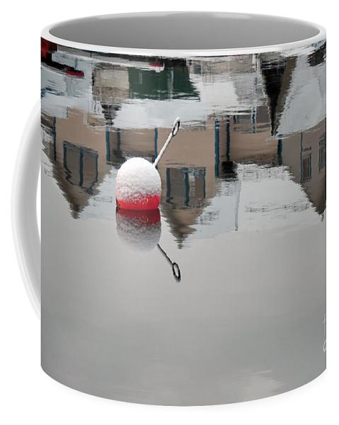 Water Reflections Coffee Mug featuring the photograph Upside Down by Randi Grace Nilsberg