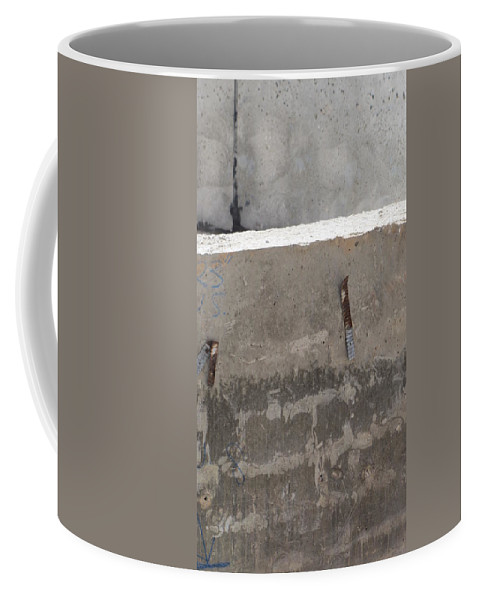 Urban Coffee Mug featuring the photograph Urban Abstract Construction 4 by Anita Burgermeister