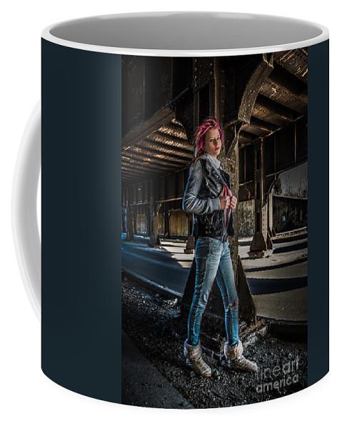 Kayla Coffee Mug featuring the photograph Urban Underworld by Michael Arend