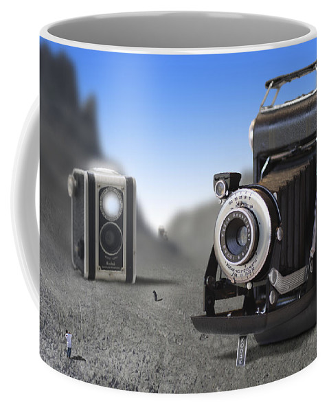 Pop Art Coffee Mug featuring the photograph Valley Of The Fallen II by Mike McGlothlen
