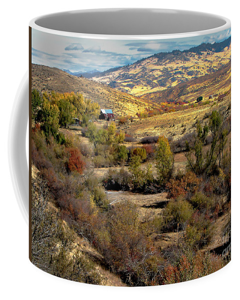 Landsacape Coffee Mug featuring the photograph Valley View by Robert Bales