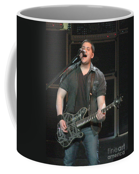 Van Halen Coffee Mug featuring the photograph Van Halen-wolfie-7063b by Gary Gingrich Galleries