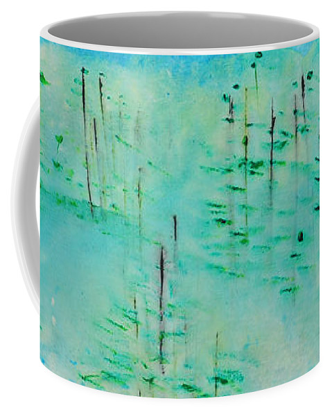 Outdoors Coffee Mug featuring the painting Vancouver Island by Paulette B Wright