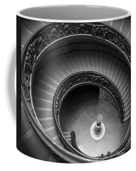 3scape Photos Coffee Mug featuring the photograph Vatican Stairs by Adam Romanowicz