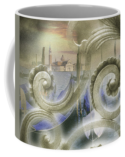 Europe Coffee Mug featuring the photograph Venezia Bella by Edmund Nagele