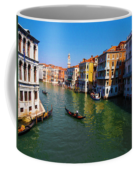 Venice Coffee Mug featuring the photograph Venice by Bill Cannon