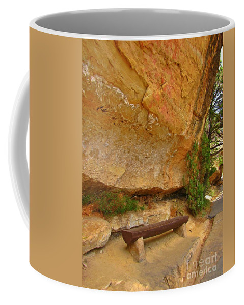 Very Unique Rest Stop Coffee Mug featuring the photograph Very Unique Rest Stop by John Malone