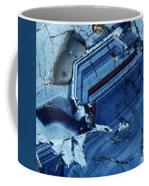 Rock Coffee Mug featuring the photograph Vesuvianite 1 by Bernardo Cesare