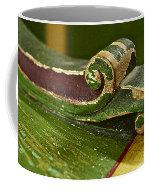 Victorian Coffee Mug featuring the photograph Victorian Curves by Gwyn Newcombe