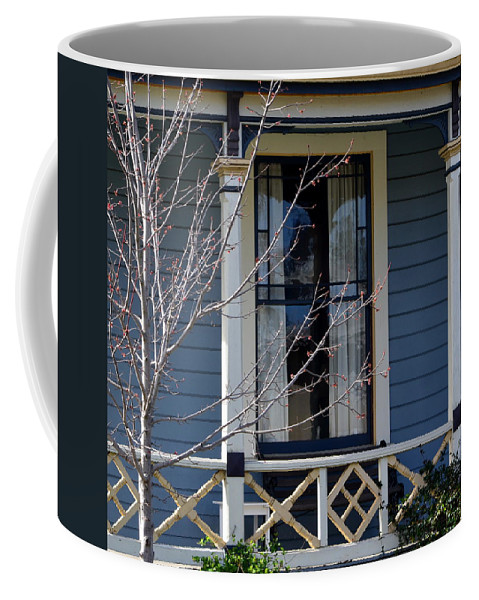 Coffee Mug featuring the photograph Victorian Home In Napa Valley by Dean Ferreira