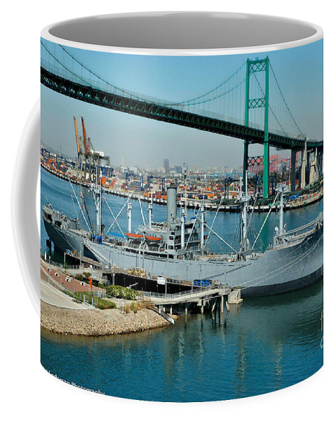 Victory Ship Coffee Mug featuring the photograph Victory Lane by Tommy Anderson