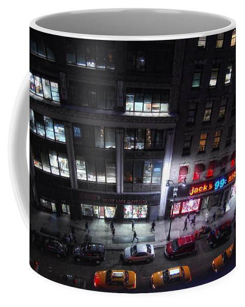 New York City Coffee Mug featuring the photograph View From The Top by Donna Blackhall