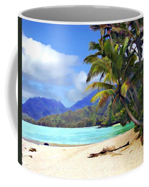 Hawaii Coffee Mug featuring the photograph View From Waicocos by Kurt Van Wagner