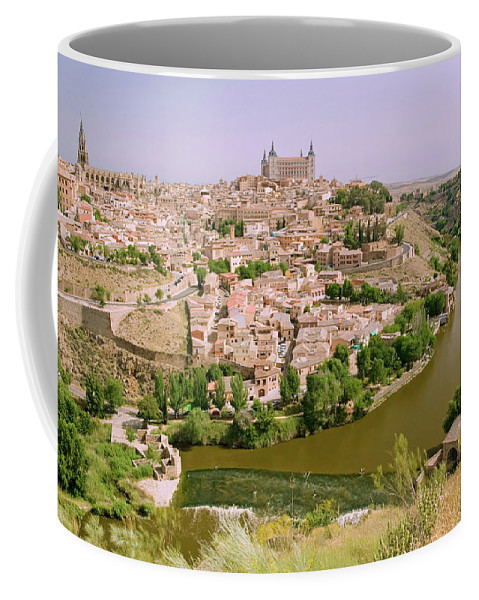 Photography Coffee Mug featuring the photograph View Overlooking The Tagus River by Panoramic Images