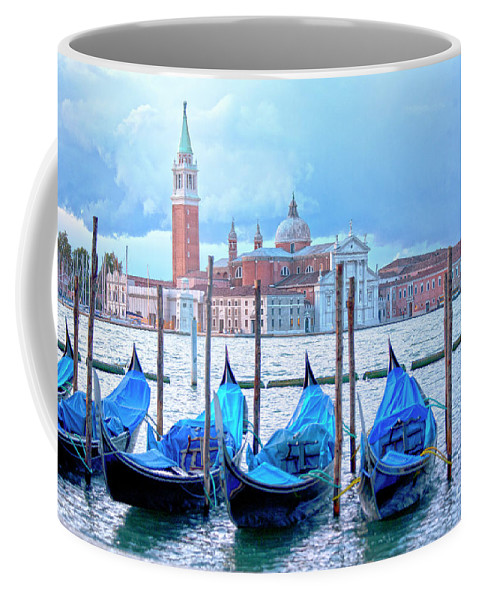 Venice Coffee Mug featuring the photograph View To San Giorgio Maggiore by Heiko Koehrer-Wagner