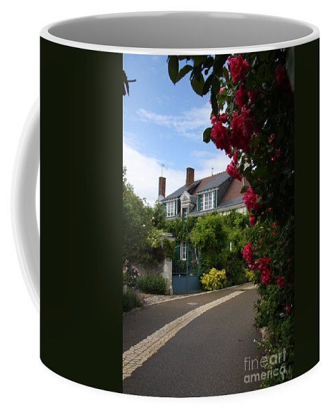 Village Coffee Mug featuring the photograph Ville De Fleur - France by Christiane Schulze Art And Photography