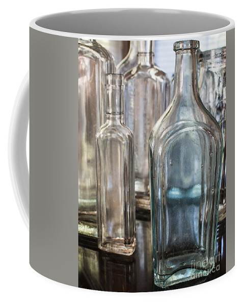 Bottles Coffee Mug featuring the photograph Vintage Bottles by Arlene Carmel