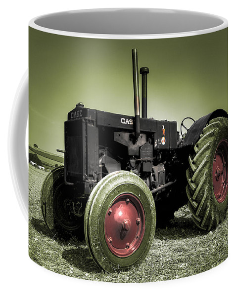 Case Coffee Mug featuring the photograph Vintage Case by Rob Hawkins
