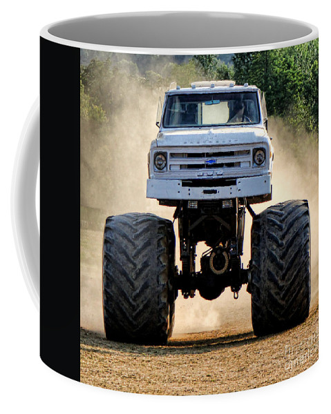 Vintage Coffee Mug featuring the photograph Vintage Chevy Monster by Olivier Le Queinec