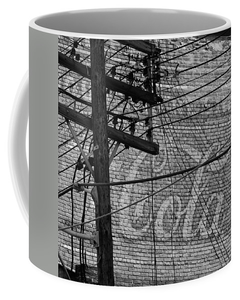 Coca Cola Coffee Mug featuring the photograph Vintage Coca Cola Sign 4 by Andrew Fare