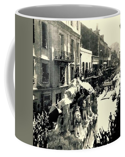 Nola Coffee Mug featuring the photograph The City That Care Forgot New Orleans by Michael Hoard