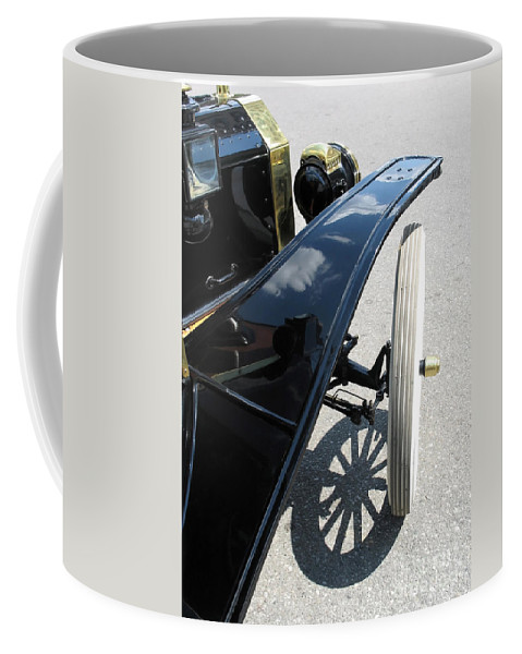 Model T Coffee Mug featuring the photograph Vintage Model T by Ann Horn
