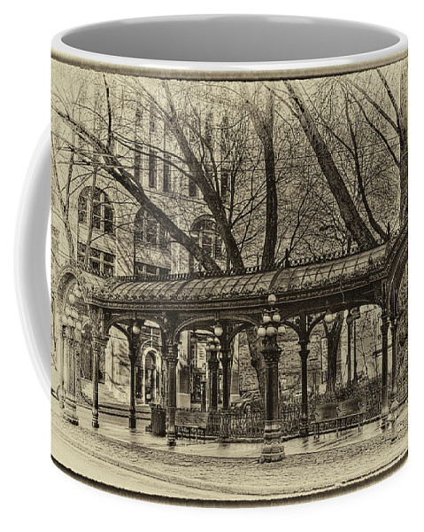 The Pergola Coffee Mug featuring the photograph Vintage Pergola by David Patterson