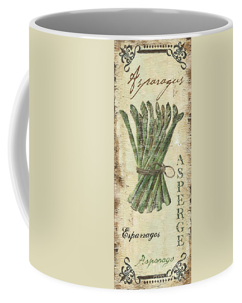 Kitchen Coffee Mug featuring the painting Vintage Vegetables 1 by Debbie DeWitt