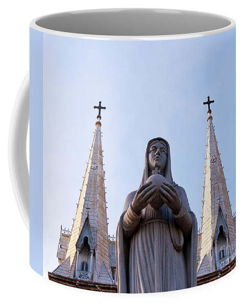 Virgin Coffee Mug featuring the photograph Virgin Mary by Rick Piper Photography