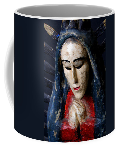 Virgin Of Guadalupe Coffee Mug featuring the photograph Virgin Of Guadalupe by Joe Kozlowski