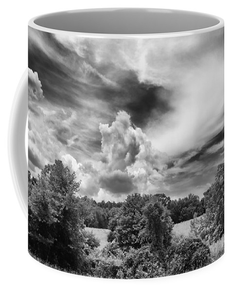 Clouds Coffee Mug featuring the photograph Virginia Sky by Guy Whiteley