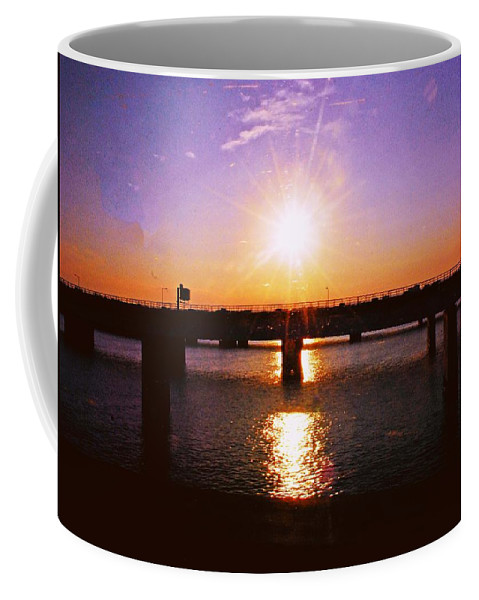 Sunset Coffee Mug featuring the photograph Virginia Sunset by Gary Wonning