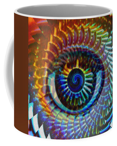 Abstract Coffee Mug featuring the photograph Visionary by Gwyn Newcombe