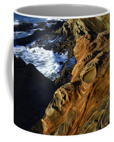 Surreal Coffee Mug featuring the photograph Visions Of Nature 5 by Bob Christopher