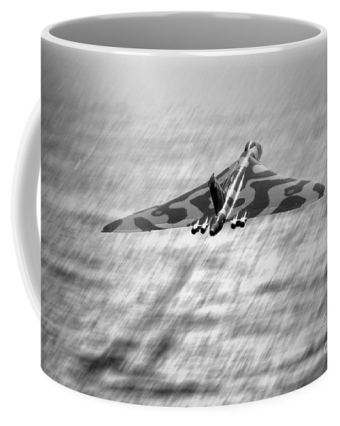 Vulcan Coffee Mug featuring the digital art Vulcan Sea by J Biggadike