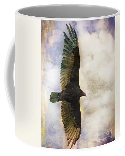 Vulture Coffee Mug featuring the photograph Vulture In Color by Dianne Phelps