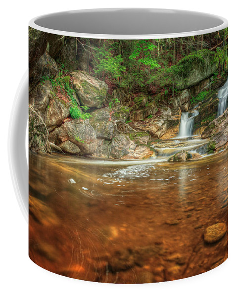Kent Falls Coffee Mug featuring the photograph Wading Pool by Bill Wakeley