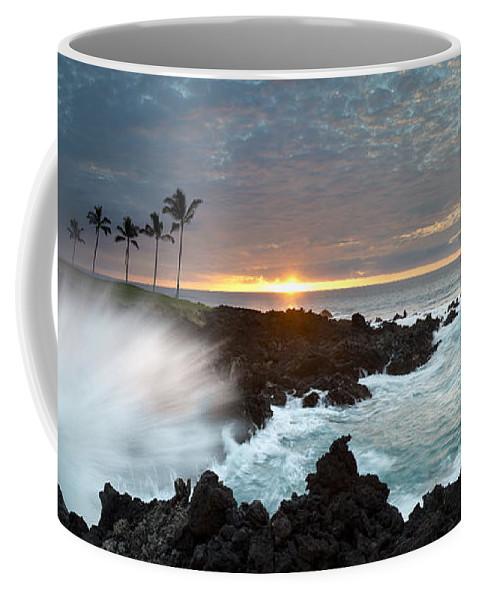 Big Island Coffee Mug featuring the photograph Waikaloa Mana by Sean Davey