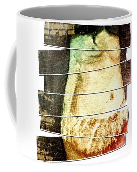 Pregnant Coffee Mug featuring the digital art Waiting For Baby by Ann Calvo