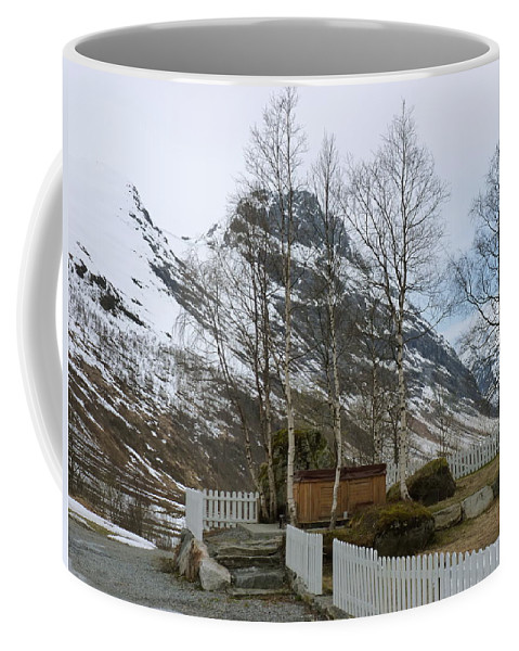 Coffee Mug featuring the photograph Waiting For Spring by Katerina Naumenko