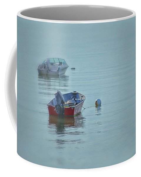 Coastal Coffee Mug featuring the photograph Waiting by Karol Livote