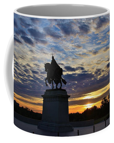 Saint Louis Coffee Mug featuring the photograph Wake Up St. Louis by Christopher Miles Carter