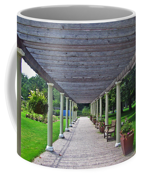 Nature Coffee Mug featuring the photograph Walk The Path by Jessica Tolemy